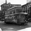 Schenectady NY State Steet west Trolley 128 1938