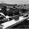 Rexford NY Erie Canal crosses the Aqueduct over Mohawk River circa 1910