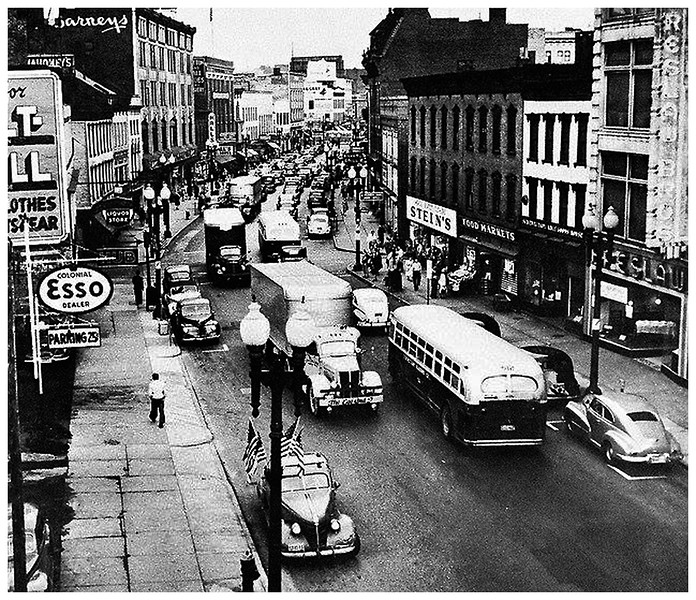 Schenectady NY State Street late 1940's