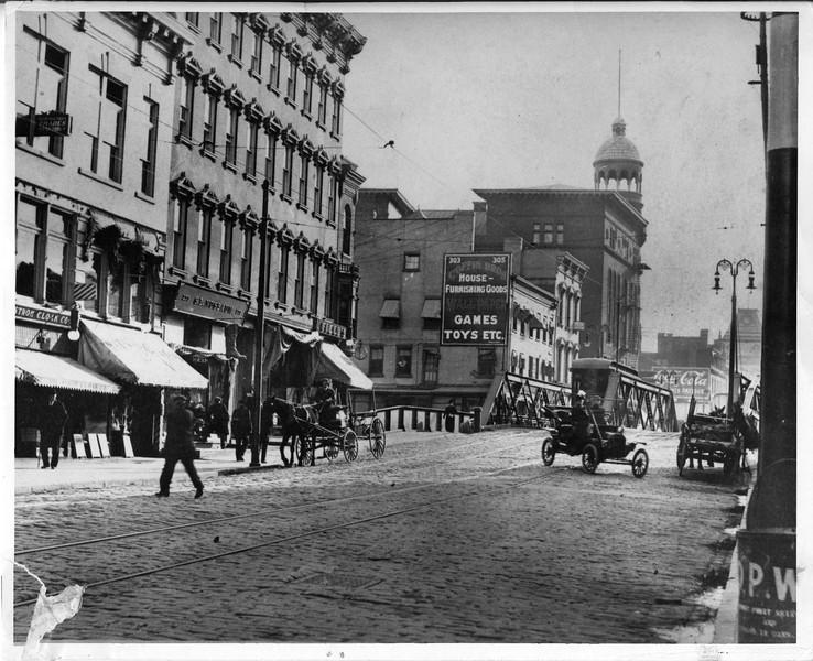Schenectady NY State Street Canal Bridge circa 1915