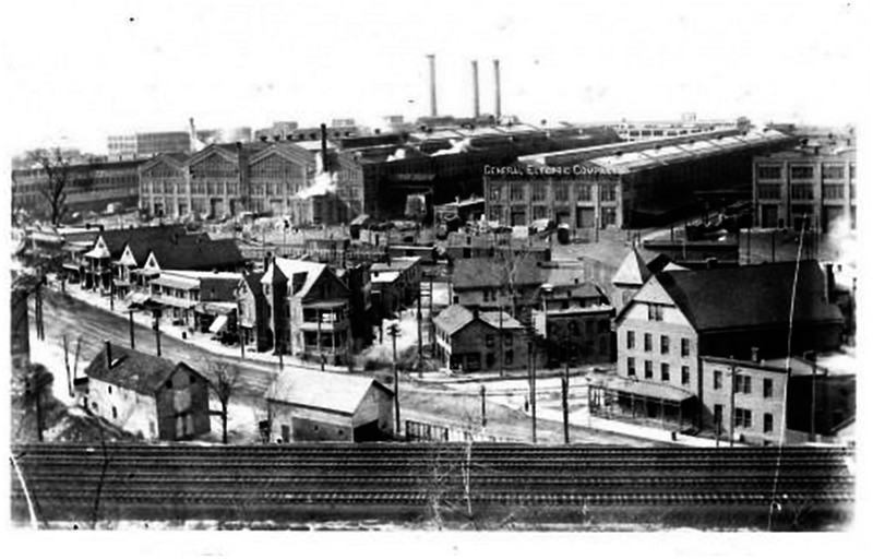 Schenectady NY circa 1920 General Electric Plant