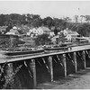 Schenectady NY Old Enlarged Erie Canal Rexford Aqueduct circa 1890