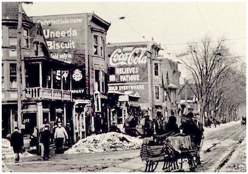 Schenectady NY Lower Broadway circa 1900