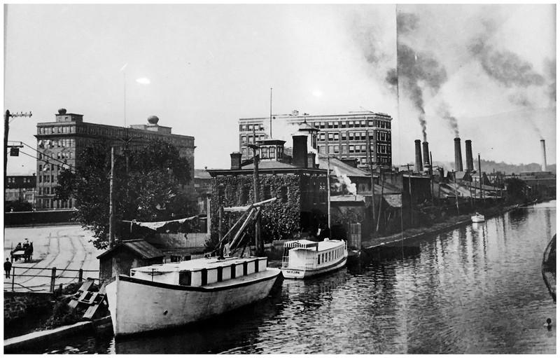 Schenectady NY Erie Canal circa 1900