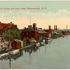 Schenectady NY GE Works and Erie Canal circa 1905