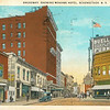 Schenectady NY Mohawk Hotel, Broadway and Smith St  circa 1930