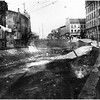 Schenectady NY Erie Canal North to State Street when Canal was being filled circa 1925-30