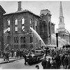 Troy NY City Hall Fire 1938