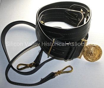 Hilborn Hamburger military dress belt