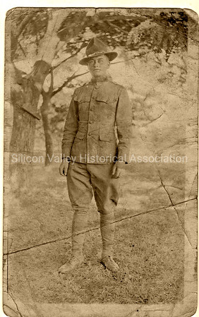 Berlin Gardner - early Santa Clara Valley resident and soldier during WWI at Camp Fremont