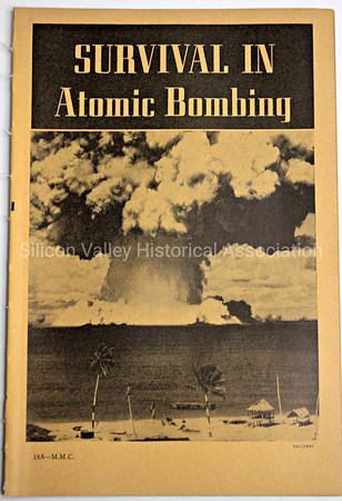 Survival in Atomic Bombing 1954 Government Military  publication