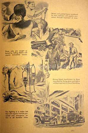 1954 instructions on surviving an atomic bombing