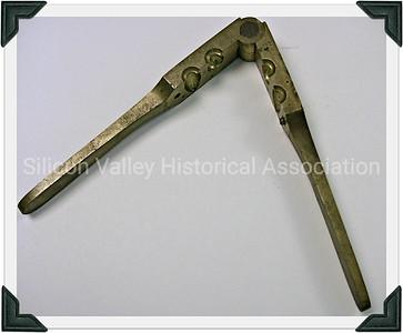 1840s Brass bullet mold