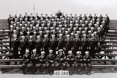 U.S. Naval recruits from the 1940s