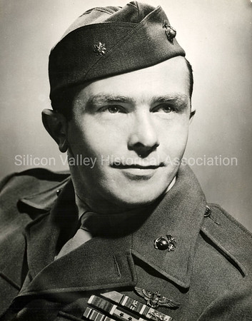 James E. Swett, First Lieutenant from San Mateo, California, awarded Medal of Honor in WWII