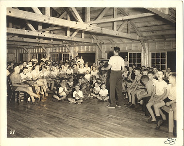 Pathfinder beginnings resonate today. The camp was founded in the Woodcraft tradition, with a Christian emphasis that included chapel meetings, song, reflection and grace traditions.