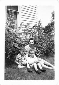 Joe and Chuck Schmadeke c1943