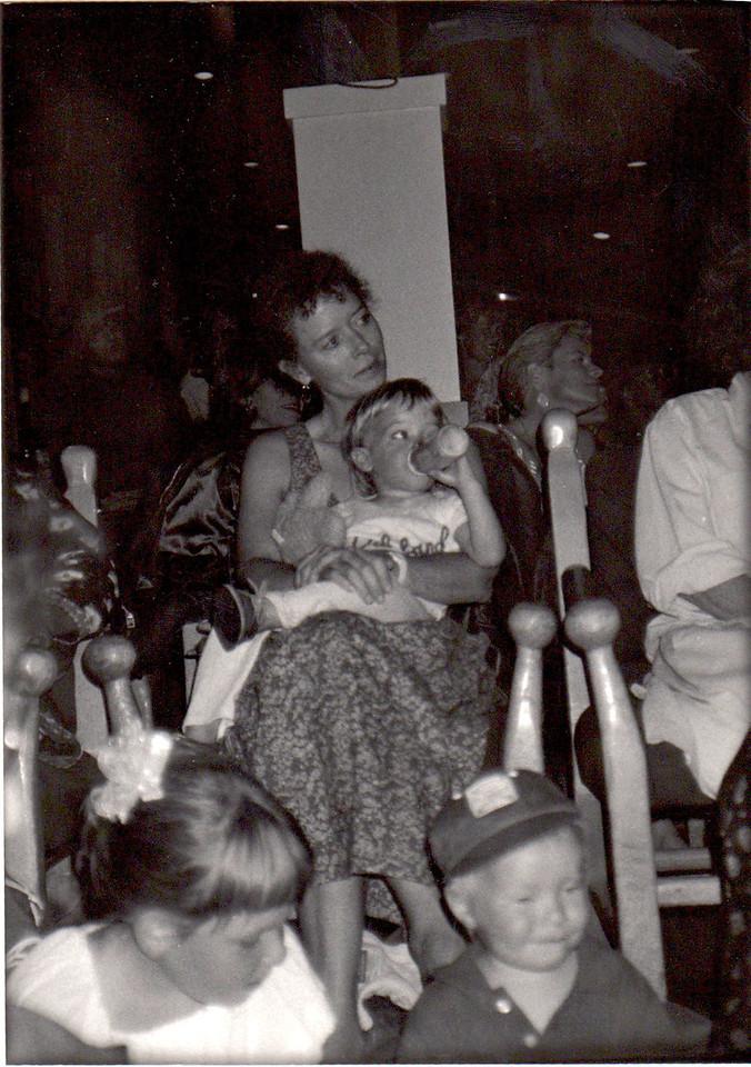 Anne Lamott and Sam. 1991.