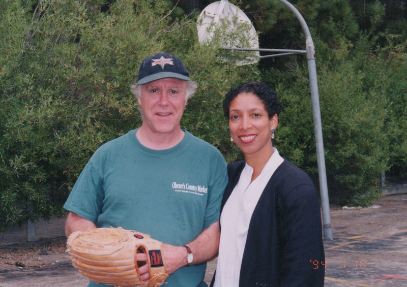 Bob with Lynne Thompson (2021 LA Poet Laureate)