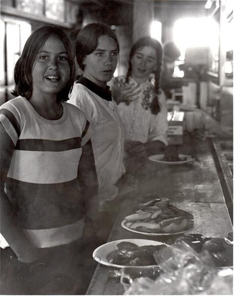 Brett Hall, Kaitlin Klaussen. 1974. [photo credit: Tracy Hall]