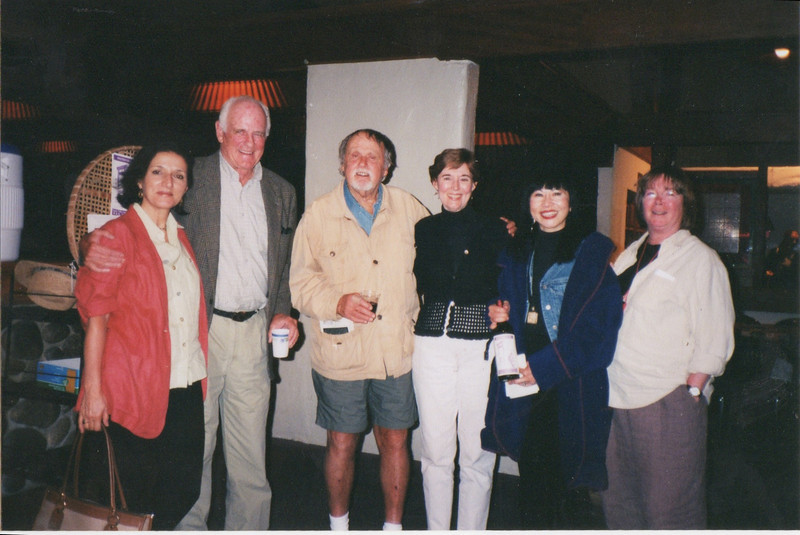 Lynn Freed, Blair Fuller, Oakley Hall, Ann Close, Amy Tan, Judith Rascoe.