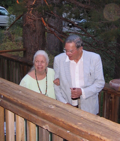 Barbara Hall and Galway Kinnell - 2004