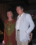 Gini Savage and Galway Kinnell - 2004