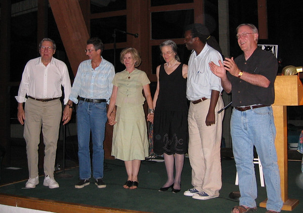 Galway Kinnell, Dean Young, CD Wright, Sharon Olds, Cornelius Eady and Robert Hass - 2004