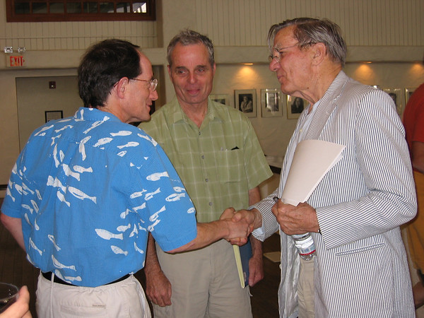Galway  Kinnell 2004 with Larry Ruth and David Watts