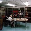 Frances Eubank and Jeanette Light, Cataloging Department, 1967.