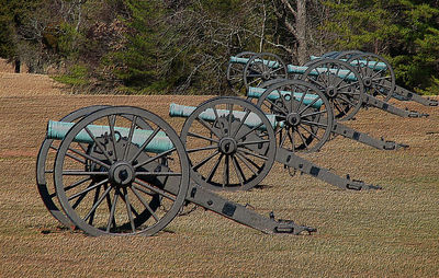 Old Guns of Manassas