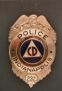 Civil Defense badge 232