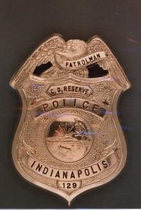 Civil Defense Reserve badge 129