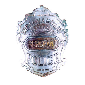 sergeant victorian badge
