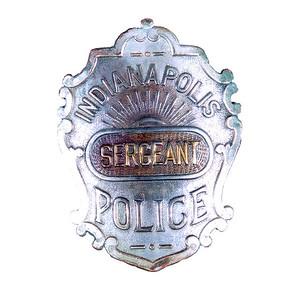 sergeant victorian badge