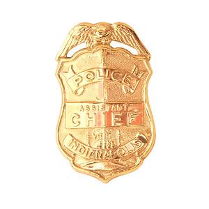 asst chief badge