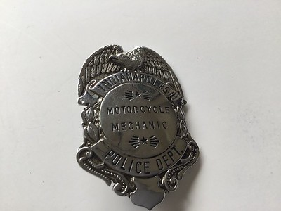 IPD Motorcycle badge