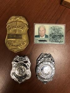 Mel Osborn Badges and ID