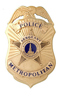 IMPD Sergeant Badge Prototype