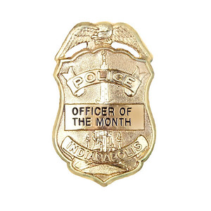 officer of month badge