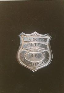 Early Meter Maid badge
