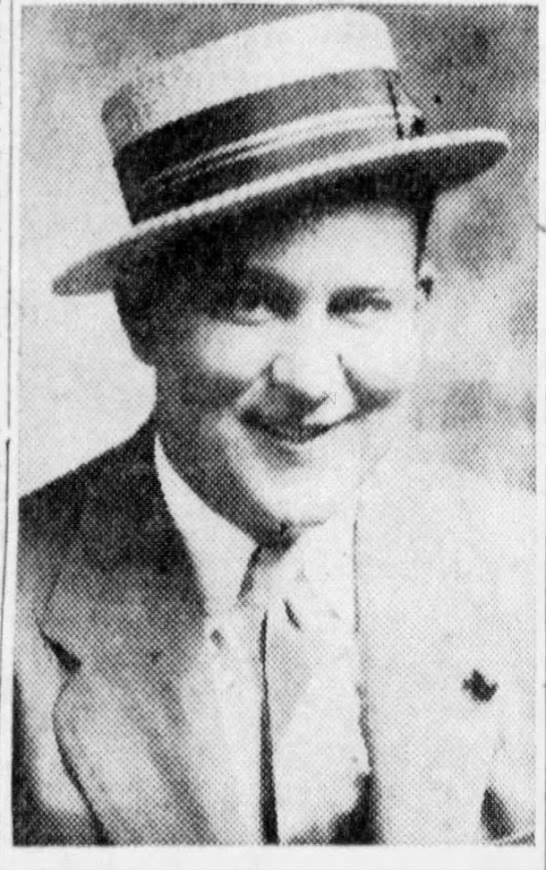 Civilian Police Records Clerk Bernard Waters 1940