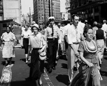 Market and Pennsylvania on September 11, 1952