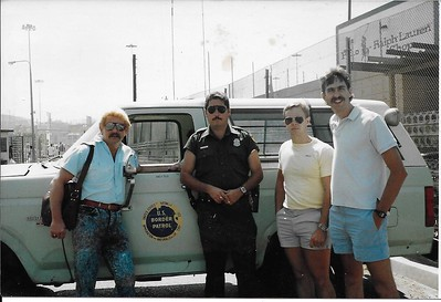 1989 Drug Recognition on Mexican Border Paul Scott, Tim Blackwell and William Rouse