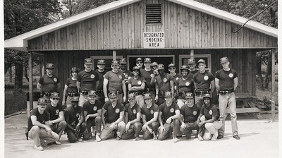 Jan 22 1982 Recruit Class at Range