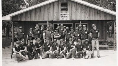 Jan 22 1982 Recruit Class at Range