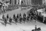 ipd-mounted-officers-in-parade-on-monument-circle-about-1917-18_20447449152_o