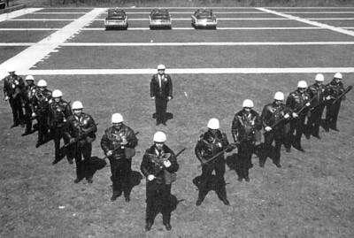 1960's Riot Control Training