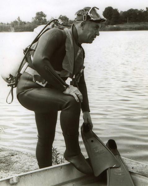 1960's IPD Scuba Team member