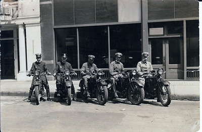 1920s IPD Cycle Officers
